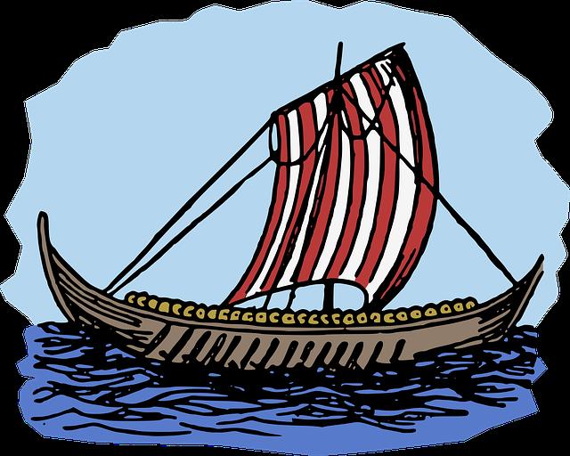 loď vikingů