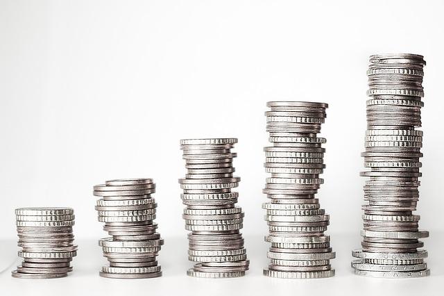 velikost mincí