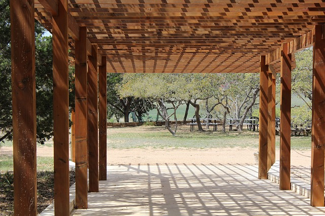 pergola dřevěná