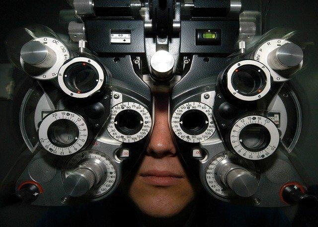 zkouška optometrie