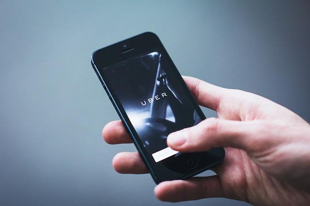 uber aplikace